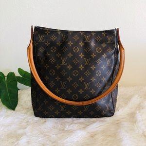 Louis Vuitton Looping GM Vintage Shoulder Tote Bag